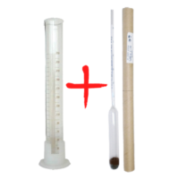 Ареометр-сахаромер АС-3 (0-25) + Мерный цилиндр 250 мл.